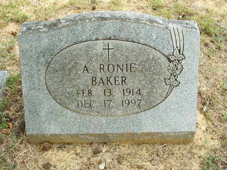 BAKER, ANNIE RONIE - White County, Arkansas | ANNIE RONIE BAKER - Arkansas Gravestone Photos