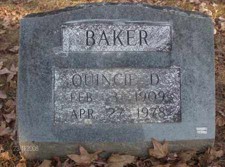 BAKER, QUINCIE DOYLE - White County, Arkansas | QUINCIE DOYLE BAKER - Arkansas Gravestone Photos