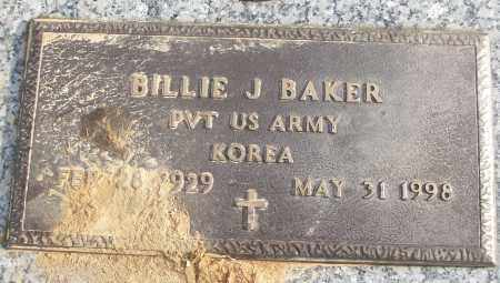 BAKER (VETERAN KOR), BILLIE J - White County, Arkansas | BILLIE J BAKER (VETERAN KOR) - Arkansas Gravestone Photos