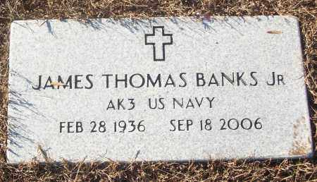 BANKS, JR (VETERAN), JAMES THOMAS - White County, Arkansas | JAMES THOMAS BANKS, JR (VETERAN) - Arkansas Gravestone Photos