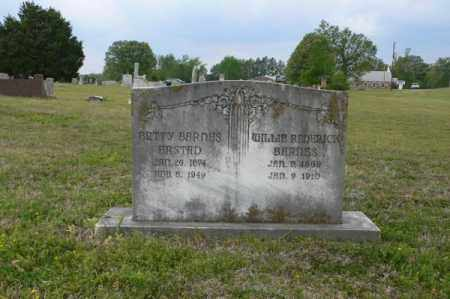 "WOMACK BARNES, NANCY ELIZABETH ""BETTY"" - White County, Arkansas 