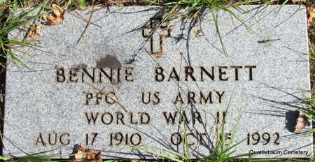 BARNETT (WWII), BENNIE - White County, Arkansas | BENNIE BARNETT (WWII) - Arkansas Gravestone Photos
