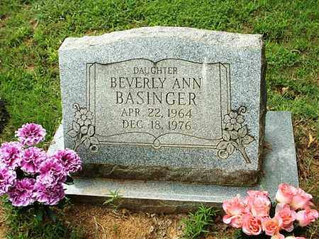 BASINGER, BEVERLY ANN - White County, Arkansas | BEVERLY ANN BASINGER - Arkansas Gravestone Photos