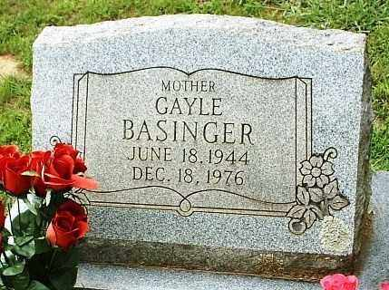 BASINGER, GAYLE - White County, Arkansas | GAYLE BASINGER - Arkansas Gravestone Photos