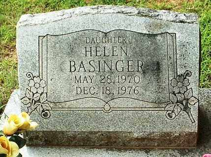BASINGER, HELEN - White County, Arkansas | HELEN BASINGER - Arkansas Gravestone Photos