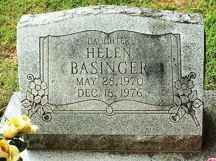 BASINGER, HELEN - White County, Arkansas | HELEN BASINGER - Arkansas Gravestone Photos
