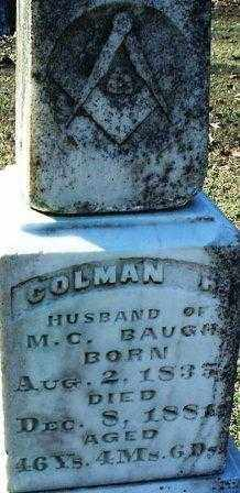 BAUGH 2, COLEMAN H. - White County, Arkansas | COLEMAN H. BAUGH 2 - Arkansas Gravestone Photos