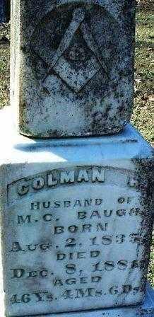 BAUGH 2, COLEMAN H. - White County, Arkansas | COLEMAN H. BAUGH 2 - Arkansas Gravestone Photos