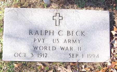 BECK (VETERAN WWII), RALPH C - White County, Arkansas | RALPH C BECK (VETERAN WWII) - Arkansas Gravestone Photos