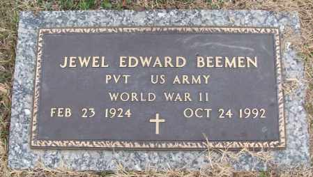 BEEMAN (VETERAN WWII), JEWEL EDWARD - White County, Arkansas | JEWEL EDWARD BEEMAN (VETERAN WWII) - Arkansas Gravestone Photos