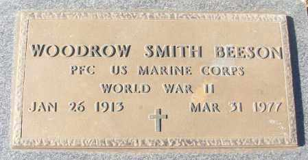 BEESON (VETERAN WWII), WOODROW SMITH - White County, Arkansas | WOODROW SMITH BEESON (VETERAN WWII) - Arkansas Gravestone Photos