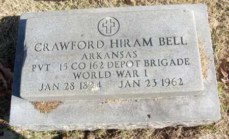 BELL  (VETERAN WWI), CRAWFORD HIRAM - White County, Arkansas | CRAWFORD HIRAM BELL  (VETERAN WWI) - Arkansas Gravestone Photos