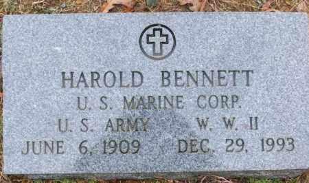 BENNETT (VETERAN WWII), HAROLD - White County, Arkansas | HAROLD BENNETT (VETERAN WWII) - Arkansas Gravestone Photos