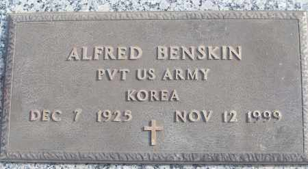 BENSKIN (VETERAN KOR), ALFRED - White County, Arkansas | ALFRED BENSKIN (VETERAN KOR) - Arkansas Gravestone Photos
