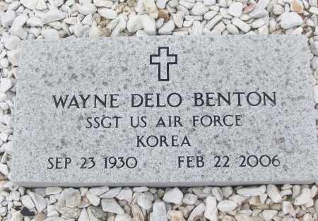 BENTON (VETERAN KOR), WAYNE DELO - White County, Arkansas | WAYNE DELO BENTON (VETERAN KOR) - Arkansas Gravestone Photos