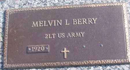 BERRY (VETERAN), MELVIN L - White County, Arkansas | MELVIN L BERRY (VETERAN) - Arkansas Gravestone Photos