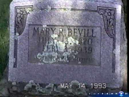 "BEVILL, MARY R. ""MACK' - White County, Arkansas 