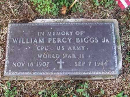 BIGGS, JR  (VETERAN WWII), WILLAIM PERCY - White County, Arkansas | WILLAIM PERCY BIGGS, JR  (VETERAN WWII) - Arkansas Gravestone Photos