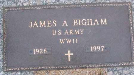 BINGHAM (VETERAN WWII), JAMES A - White County, Arkansas | JAMES A BINGHAM (VETERAN WWII) - Arkansas Gravestone Photos