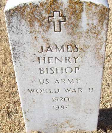 BISHOP (VETERAN WWII), JAMES HENRY - White County, Arkansas | JAMES HENRY BISHOP (VETERAN WWII) - Arkansas Gravestone Photos