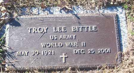 BITTLE (VETERAN WWII), TROY LEE - White County, Arkansas | TROY LEE BITTLE (VETERAN WWII) - Arkansas Gravestone Photos