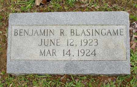BLASINGAME, BENJAMIN R. - White County, Arkansas | BENJAMIN R. BLASINGAME - Arkansas Gravestone Photos