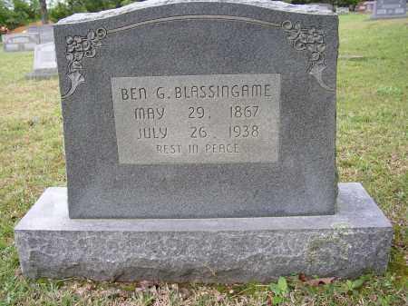 BLASINGAME, BEN G. - White County, Arkansas | BEN G. BLASINGAME - Arkansas Gravestone Photos