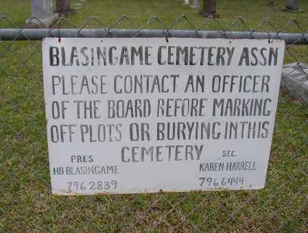 BLASINGAME CEMETERY ASSN., * - White County, Arkansas | * BLASINGAME CEMETERY ASSN. - Arkansas Gravestone Photos