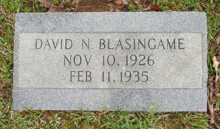 BLASINGAME, DAVID N. - White County, Arkansas | DAVID N. BLASINGAME - Arkansas Gravestone Photos