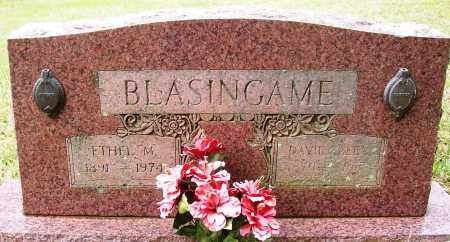 BLASINGAME, DAVID ALEX - White County, Arkansas | DAVID ALEX BLASINGAME - Arkansas Gravestone Photos