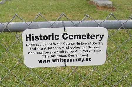 BLASINGAME HISTORIC MARKER, * - White County, Arkansas | * BLASINGAME HISTORIC MARKER - Arkansas Gravestone Photos