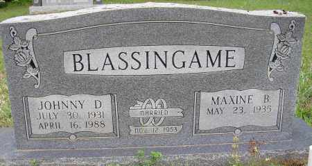 BLASINGAME, JOHNNY D. - White County, Arkansas | JOHNNY D. BLASINGAME - Arkansas Gravestone Photos