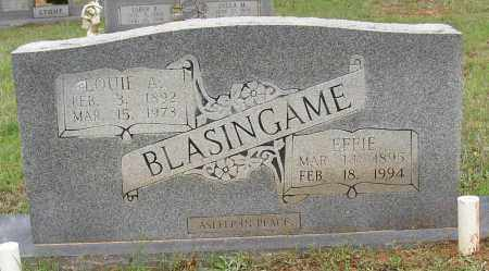 BLASINGAME, LOUIE A. - White County, Arkansas | LOUIE A. BLASINGAME - Arkansas Gravestone Photos