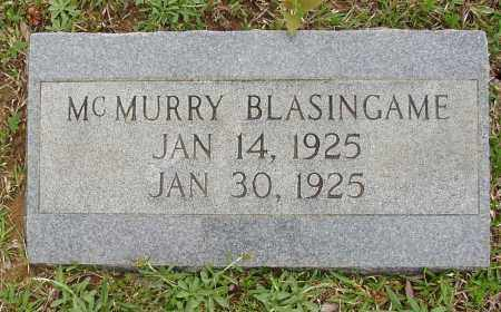 BLASINGAME, MCMURRY - White County, Arkansas | MCMURRY BLASINGAME - Arkansas Gravestone Photos