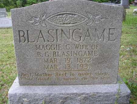 BLASINGAME, MAGGIE C. - White County, Arkansas | MAGGIE C. BLASINGAME - Arkansas Gravestone Photos