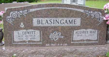 BLASINGAME (WWII & KOREA), LEONARD DEWITT - White County, Arkansas | LEONARD DEWITT BLASINGAME (WWII & KOREA) - Arkansas Gravestone Photos