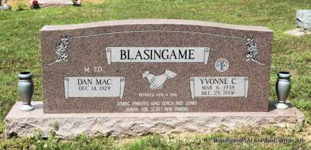 BLASINGAME, YVONNE C. - White County, Arkansas | YVONNE C. BLASINGAME - Arkansas Gravestone Photos