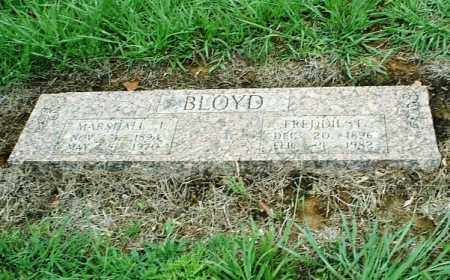 BLOYD, MARSHALL J. - White County, Arkansas | MARSHALL J. BLOYD - Arkansas Gravestone Photos
