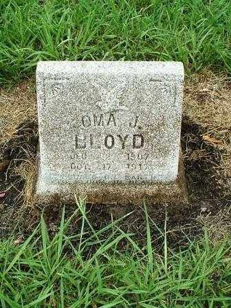 BLOYD, OMA J. - White County, Arkansas | OMA J. BLOYD - Arkansas Gravestone Photos