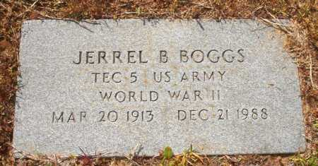 BOGGS (VETERAN WWII), JERRELL B - White County, Arkansas | JERRELL B BOGGS (VETERAN WWII) - Arkansas Gravestone Photos