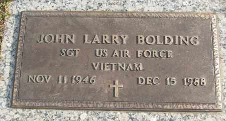 BOLDING (VETERAN VIET), JOHN LARRY - White County, Arkansas | JOHN LARRY BOLDING (VETERAN VIET) - Arkansas Gravestone Photos