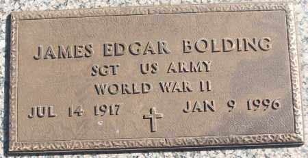BOLDING (VETERAN WWII), JAMES EDGAR - White County, Arkansas | JAMES EDGAR BOLDING (VETERAN WWII) - Arkansas Gravestone Photos