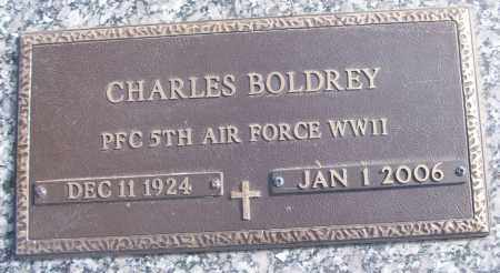 BOLDREY (VETERAN WWII), CHARLES - White County, Arkansas | CHARLES BOLDREY (VETERAN WWII) - Arkansas Gravestone Photos