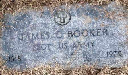 BOOKER (VETERAN), JAMES C - White County, Arkansas   JAMES C BOOKER (VETERAN) - Arkansas Gravestone Photos