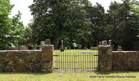 *BOOTH FAMILY CEMETERY,  - White County, Arkansas |  *BOOTH FAMILY CEMETERY - Arkansas Gravestone Photos