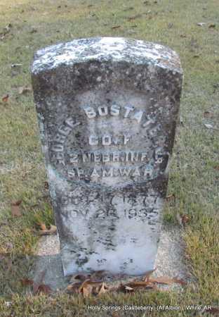 BOSTATER, JR.  (VETERAN SAW), GEORGE - White County, Arkansas   GEORGE BOSTATER, JR.  (VETERAN SAW) - Arkansas Gravestone Photos