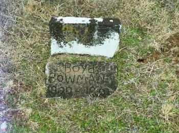 BOWMAN, BOYD HERMAN - White County, Arkansas | BOYD HERMAN BOWMAN - Arkansas Gravestone Photos
