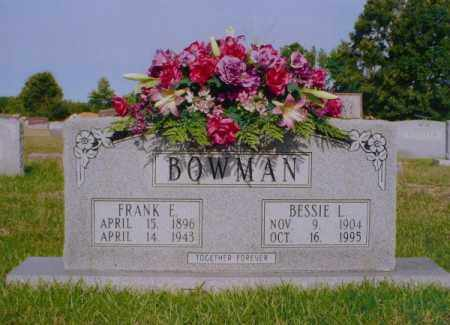 BOWMAN, BESSIE LOUISE - White County, Arkansas | BESSIE LOUISE BOWMAN - Arkansas Gravestone Photos