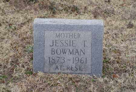BOWMAN, JESSIE THOMAS - White County, Arkansas | JESSIE THOMAS BOWMAN - Arkansas Gravestone Photos