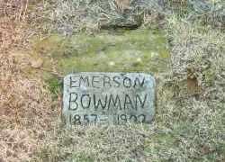 BOWMAN, ROBERT EMERSON - White County, Arkansas | ROBERT EMERSON BOWMAN - Arkansas Gravestone Photos